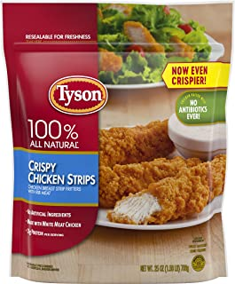Tyson Fully Cooked Crispy Chicken Strips, 25 oz. (Frozen)
