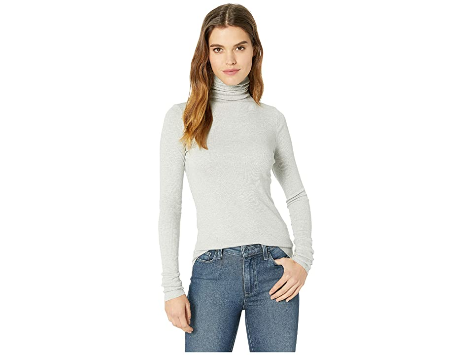 Image of AG Adriano Goldschmied Chels Turtleneck (Heather Grey) Women's Clothing