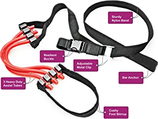 Pull up Assist Band. Chin up Max. Chin up Assist Band. P90X Crossfit. Perfect Pullup Bands for High Performance and Full Body Workout Programs.
