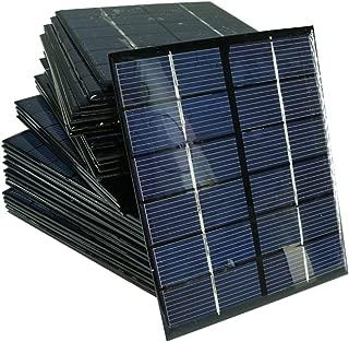 Sunnytech 1pc 2w 6v 330ma Mini Solar Panel Module DIY Polysilicon Solar Epoxy Cell Charger B031