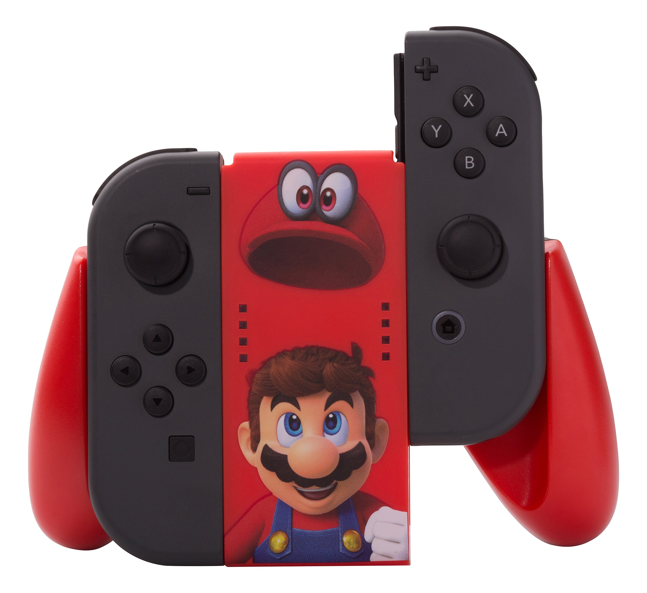 PowerA - Comfort Grip Para 2 Joy-Con De Mario Odyssey (Nintendo Switch): Amazon.es: Videojuegos