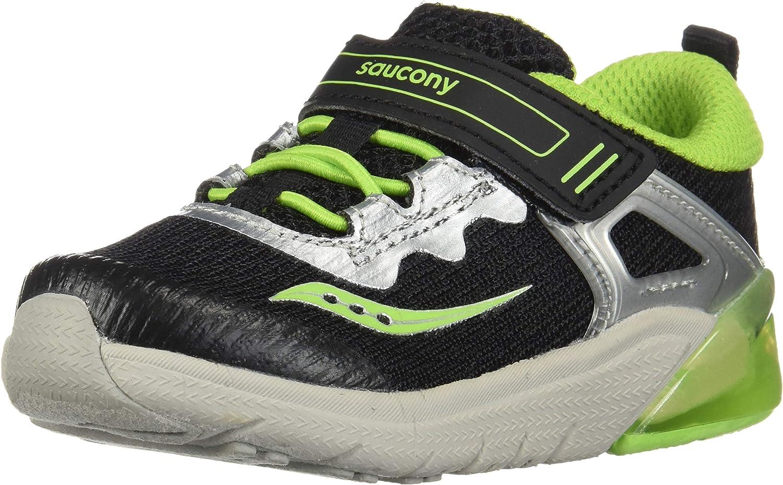 Saucony Unisex-Child Flash Glow High quality new Sneaker Indefinitely Jr