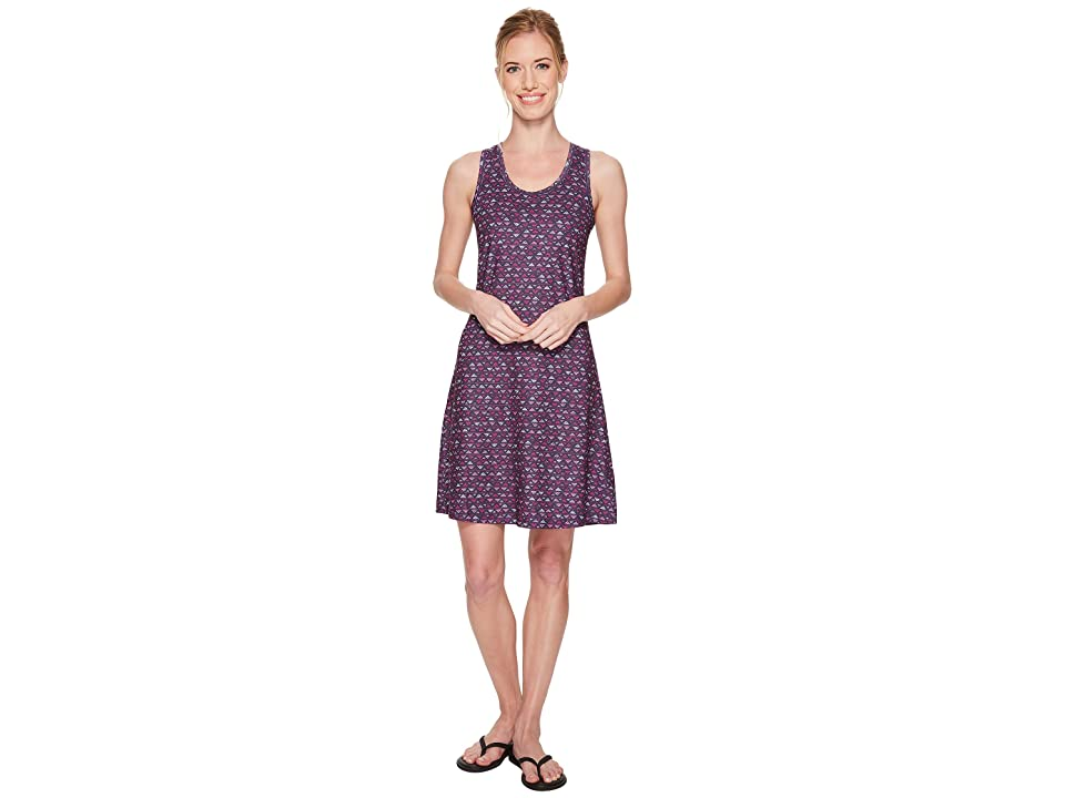 Columbia Saturday Trailtm II Knit Dress (Nocturnal Mountain Triangles Print) Women