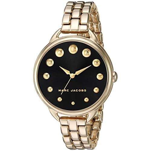 Marc Jacobs Womens Betty Gold-Tone Watch - MJ3494