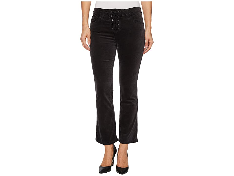 AG Adriano Goldschmied Jodi Crop Lace-Up in Rich Mercury (Rich Mercury) Women's Jeans