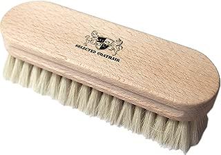 コンドウ(Kondo) ドイツ製 靴磨き ブラシ 山羊 ホワイト Mサイズ DONOK selected goathair brush