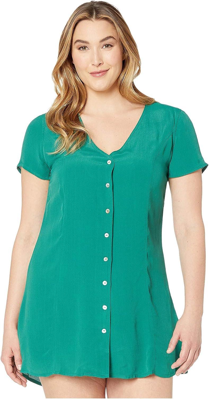 RVCA Women's Sale Guilt Max 53% OFF Up Dress Button