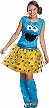 Disguise Sesame Street Cookie Tween Deluxe Costume, X-Large/14-16