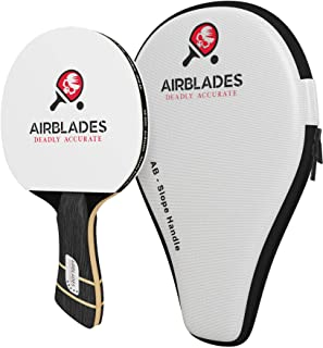 AirBlades - Professional Ping Pong Paddle for Beginner/Intermediate/Advance Players -Table Tennis Paddle Featuring Ergonom...