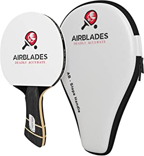 AirBlades Professional Ping Pong Paddle - Table Tennis Racket with Carry Case