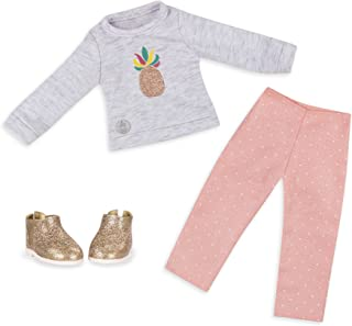 """Glitter Girls by Battat - Dressed To Dazzle Darling Top & Pant Regular Outfit - 14"""" Doll Clothes & Accessories For Girls A..."""