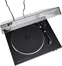Denon DP-300F Fully Automatic Analog Turntable With Built-In Phono Equalizer | Unique Tonearm Design | Hologram Vibration ...