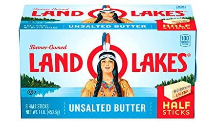 Land O Lakes Half Stick Unsalted Butter, 1 lb