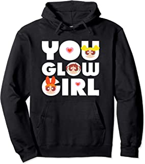 Cartoon Network The Powerpuff Girls You Glow Girl Sweat à Capuche