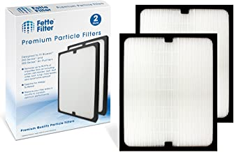 Fette Filter - True HEPA Filter Compatible with Blueair 200/300 Series Particle Filter Models 201, 203, 203 Slim, 205, 210B, 215B, 250E, 270E, 270E Slim, 303