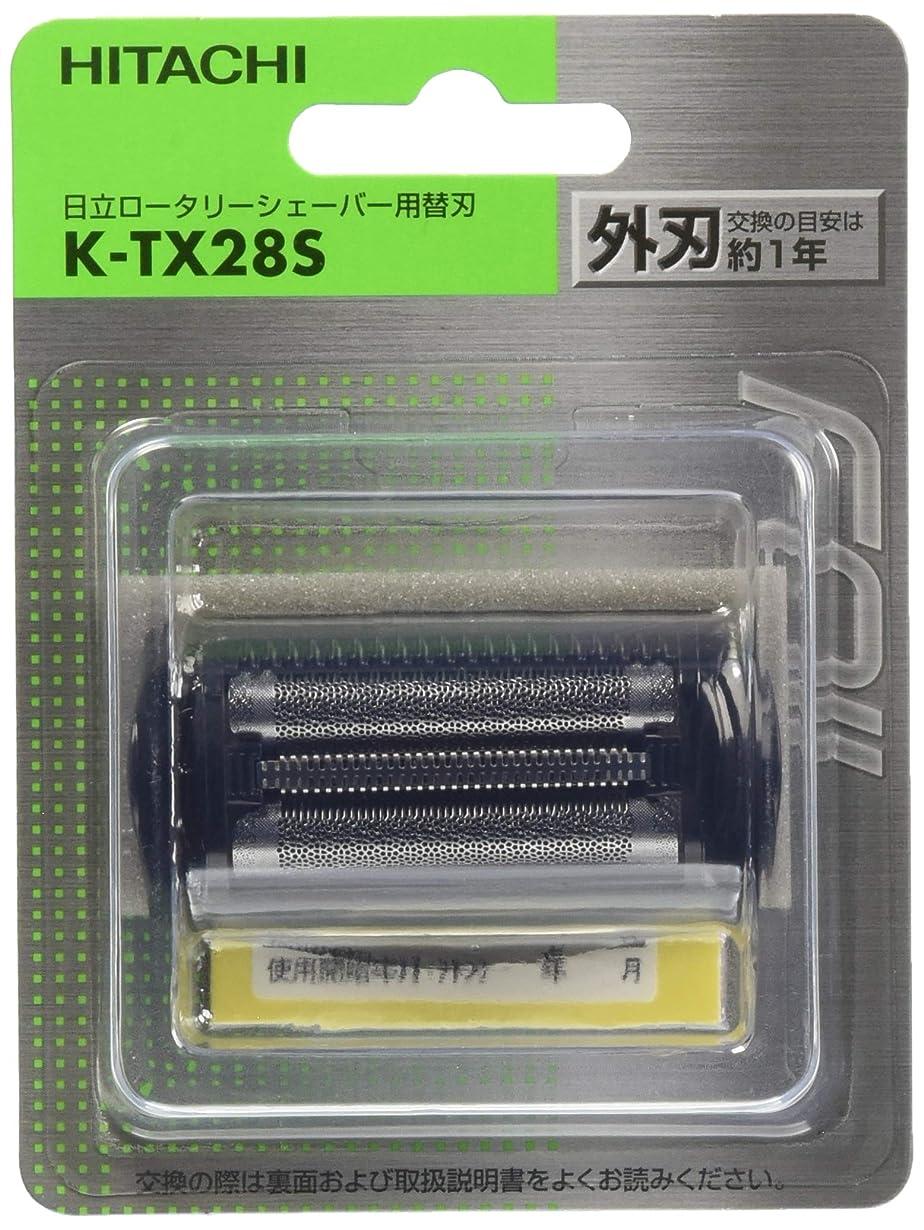 移民穴無数の日立 替刃 外刃 K-TX28S