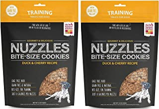 The Honest Kitchen Nuzzles: Natural Grain-Free Dog Training Treat Cookies, 24 ounces