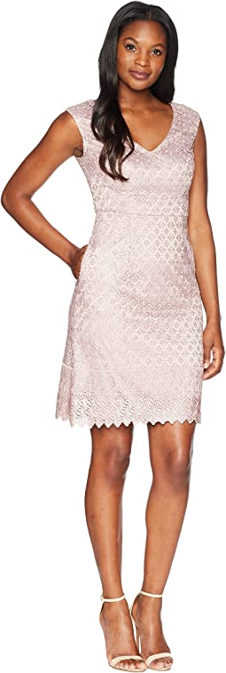 Short Guipure Lace Dress
