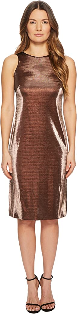 Dajetta Sleeveless Metallic Dress