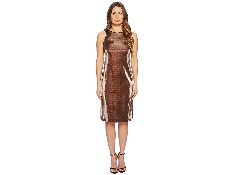 ESCADA Dajetta Sleeveless Metallic Dress (Black) Women