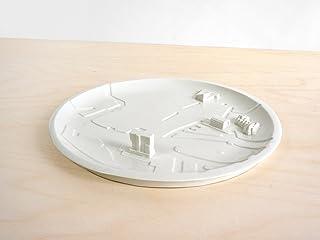 Rotterdam Piatta Città - Rotterdam City Plate - Olandese - Design - Ceramica - Elettrodomestici - Living - Colourful - Pla...