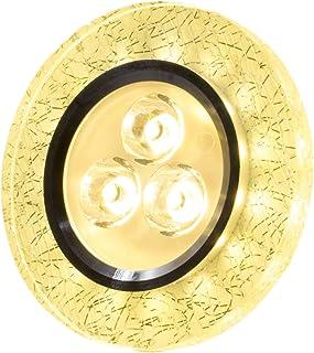 SpiceLED® CrushLED Panneau en retrait 6W intérieur blanc chaud; extérieur blanc chaud Effet