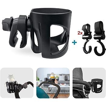 JL Childress Cup 'N Stuff Stroller Cup Holder (Black ...