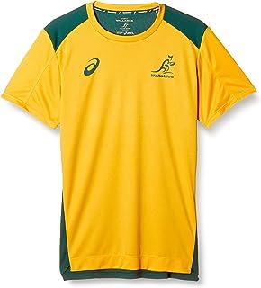 [アシックス] ラグビーウエア ワラビーズ20 トレーニング半袖Tシャツ レプリカ 2111A815 メンズ