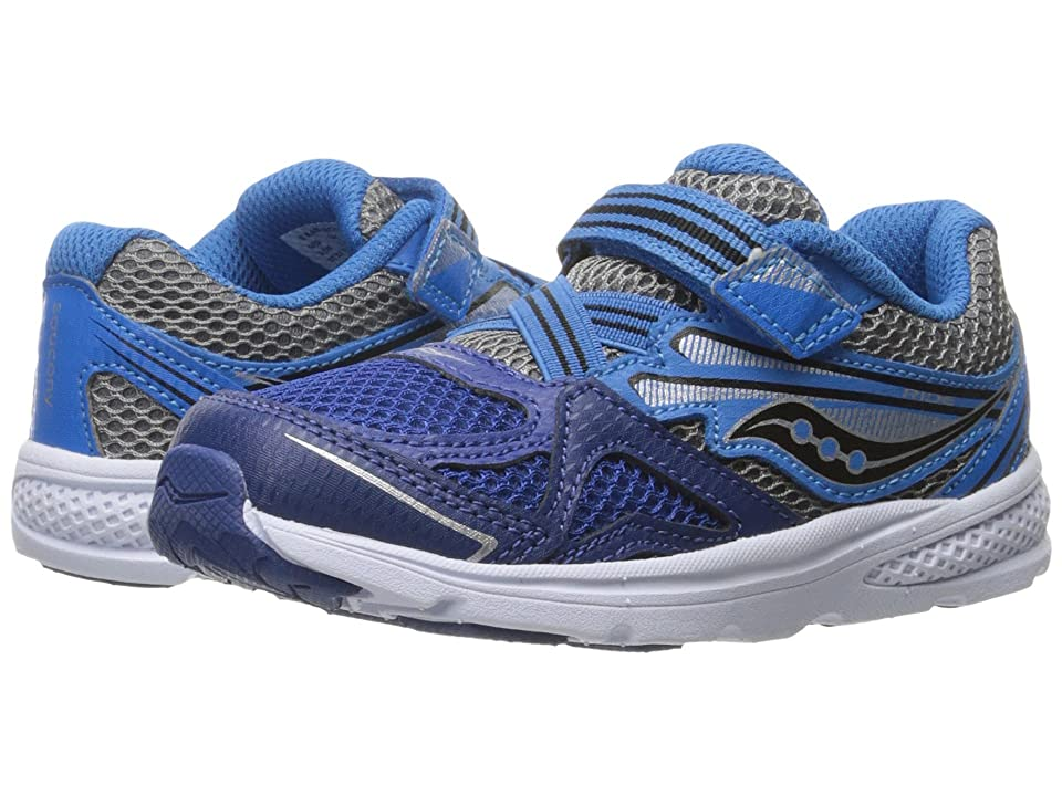 Saucony Kids Ride 9 (Toddler/Little Kid) (Navy/Blue) Boys Shoes