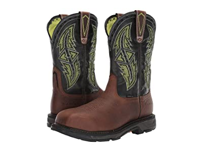 Ariat Workhog(r) XT Venttektm Spear Carbon Toe (Rye Brown) Men