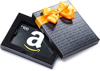 "Amazon.com Gift Card in a Black Gift Box (""A"" Smile Card Design)"