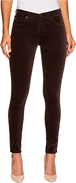 AG Adriano Goldschmied - The Velvet Legging in Dark Oakwood