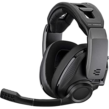 EPOS I SENNHEISER GSP 670 Wireless Gaming Headset, Low-Latency Bluetooth, 7.1 Surround Sound, Noise-Cancelling Mic, Flip-to-Mute, Audio Presets, For Windows PC, PS4, and Smartphones