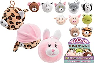 KandyToys TY3617 2 in 1 Squishy Friends-6 Assorted