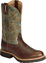 Twisted X Men's Pullon Work Boot Round Toe - Mcw0005