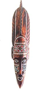 Amazon Com Decorative Masks Wood Decorative Masks Decorative Accessories Home Kitchen