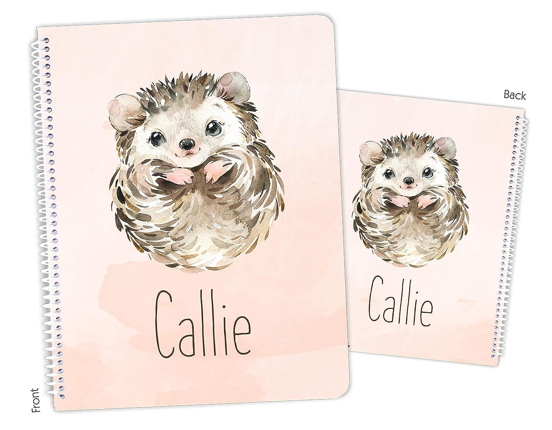 Personalized Hedgehog Spiral Sketchbook excellence Fresno Mall Bound Notebook