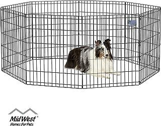 MidWest Homes for Pets Folding Metal Exercise Pen / Pet Playpen