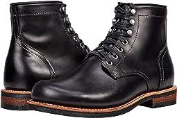 """Small Batch 6"""" Plain Toe Stacked Heel"""
