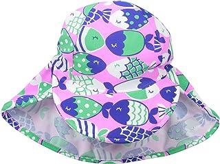 Flap Happy Baby and Childrens Swim Flap Hat UPF 50+,...