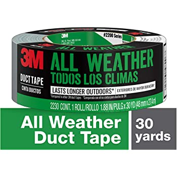 3M All Weather Duct Tape, 1.88 inches x 30 yards, 2230-HD, 1 roll