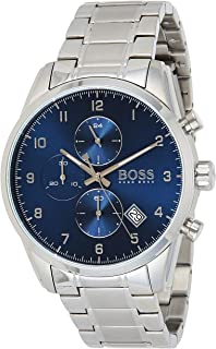 Hugo Boss Men's Blue Dial Stainless Steel Watch - 1513784