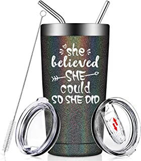 She Believed She Could So She Did - Funny Congratulations present Graduation Spiritual Inspiritional for Women, Her, Birth...