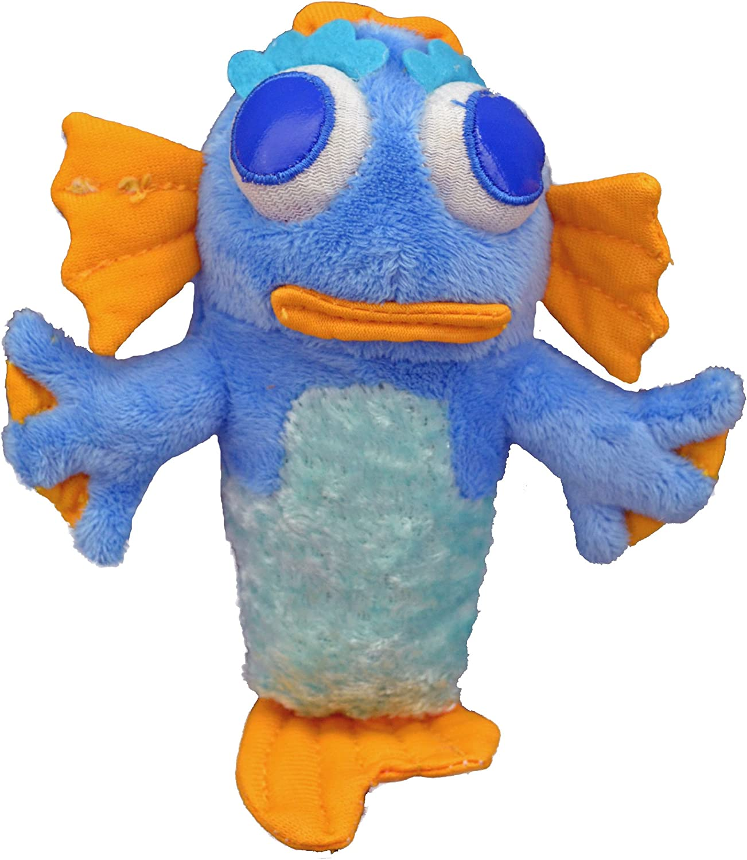 One Pet Planet Neptune Mermutt Pet Squeak Toy, Small
