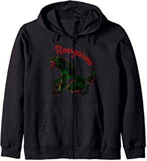 TMTZ Rougarou Werewolf Legend of the Night Shapeshifter Zip Hoodie
