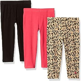 Limited Too Girls' 3 Pack Ankle Length Knit Leggings Set