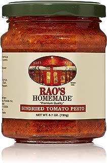 Rao's Homemade Sun Dried Tomato Pesto Sauce, 6.7 Ounce Jar