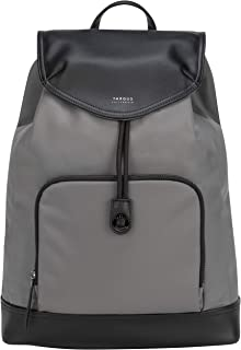 Targus TSB96404GL 15 inches Newport Drawstring Travel and Commute Backpack - Grey