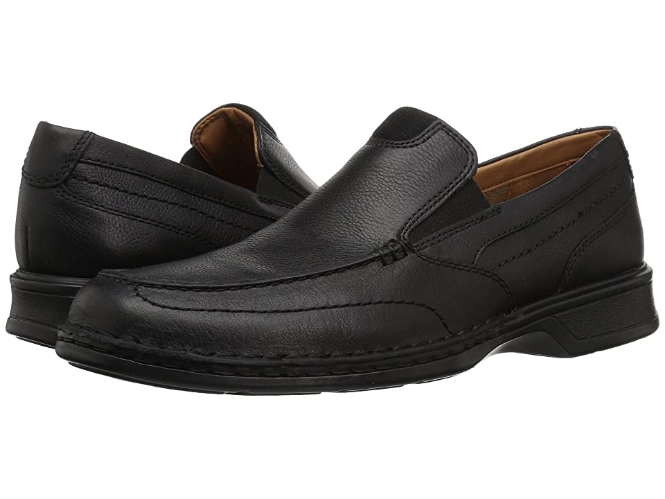 Clarks Northam Step (Black Oily Leather) Men