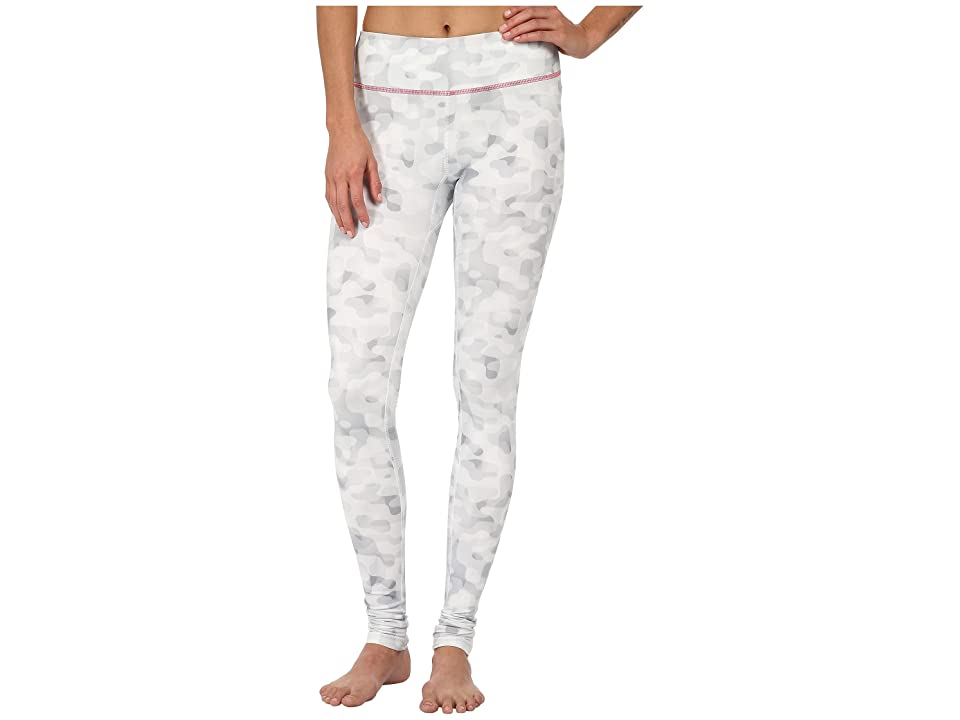 Columbia Trail Boundtm Printed Legging (White Tonal Camo/Laser Red) Women